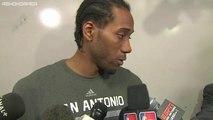 Kawhi Leonard Postgame Interview   Spurs vs Heat   Game 4   June 12, 2014   NBA Finals 2014