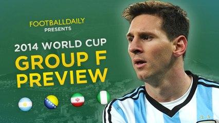 2014 Dünya Kupası F Grubu Genel Bakış ve Tahminler