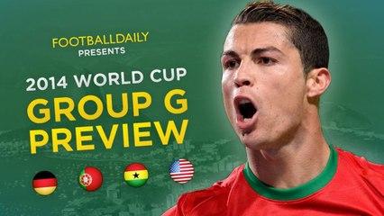 2014 Dünya Kupası G Grubu Genel Bakış ve Tahminler