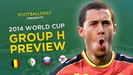 2014 Dünya Kupası H Grubu Genel Bakış ve Tahminler