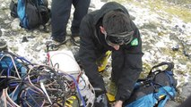 علماء يدرسون ظاهرة الاحتباس الحراري في أنتركتيكا