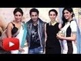 Kareena & Karisma Kapoor @ Lekar Hum Deewana Dil Music Launch !