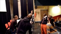 ateliers theatre lycée Montardon 2014