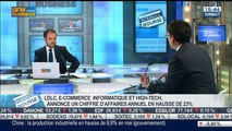 LDLC: Hausse de 23% du chiffre d'affaires annuel: Olivier de la Clergerie, dans Intégrale Bourse – 13/06