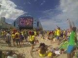 COUPE DU MONDE BRESIL 2014: En direct de Copacabana