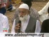 Delegation of Sunni Ittehad Council Vist MQM Sit-in Numaish to Solidarity with Mr.Altaf Hussain