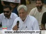 Delegation of Mansehra Vist MQM Sit-in Numaish to Solidarity with Mr.Altaf Hussain
