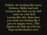 Eminem ft. 50 Cent & Busta Rhymes - Hail Mary (Lyrics / Paroles)
