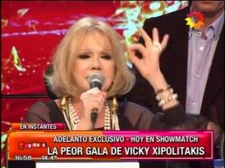Pronto.com.ar Vicky Xipolitakis sin peluca