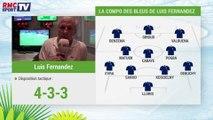 France - Honduras : le onze de Luis Fernandez