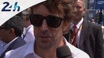 24 Heures du Mans 2014: interview de Fernando Alonso