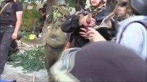 Мариуполь- Батальон Ляшко и батальон 'Азов' проводят зачистку террористов 13 июня 2013
