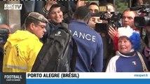 Football / L'équipe de France est à Porto Alegre - 14/06