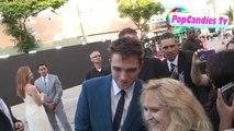 12.06.2014 LA Robert Pattinson greets fans at The Rover Premiere