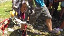 hautes-Alpes : Découverte de la nouvelle Via Ferrata de Rouanne