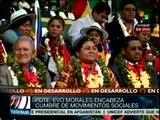 Defender a Venezuela es defender a Bolivia y a toda AL: Evo Morales