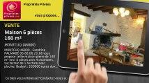 A vendre - maison - MONTCUQ (46800) - 6 pièces - 160m²