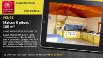 A vendre - maison - SAINT ANDRE DES EAUX (44117) - 8 pièces - 160m²