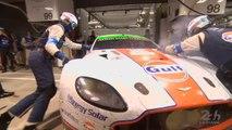 24 Heures du Mans 2014 - L'Aston Martin #98 au stand