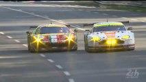 24h du Mans 2014 Race Ferrari vs Aston Martin Great battle