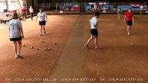 Troisième tour, finale de la Coupe d'Europe des Clubs féminins, Sport Boules, Saint-Denis-les-Bourg 2014