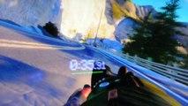 """Réalité virtuelle : """"Street Luge"""" de Sony sur le casque Morpheus à l'E3 2014"""