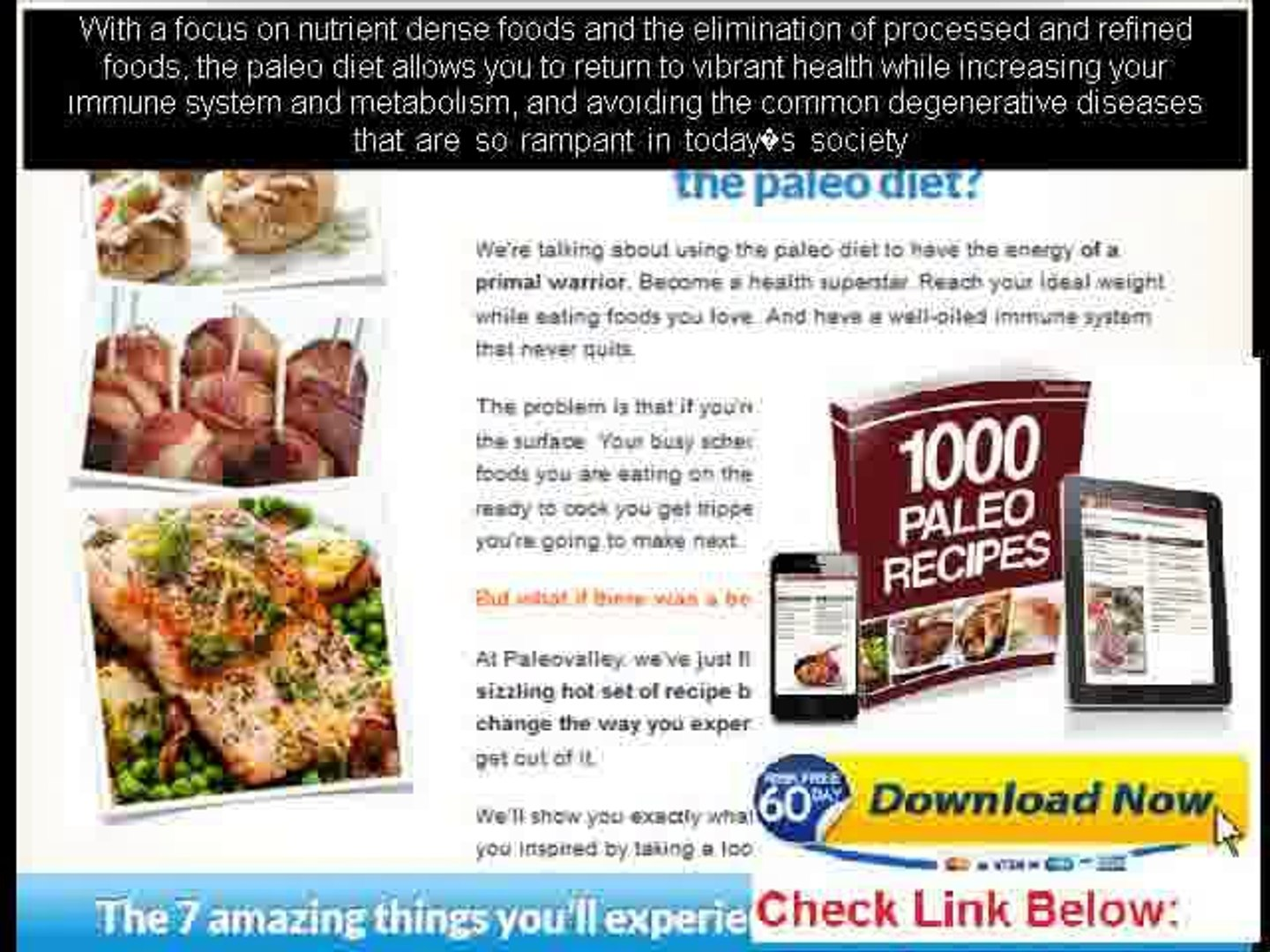 a free paleo diet meal plans
