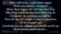 Meek Mill - I'm Leanin' featuring Birdman, Diddy & Travis Scott (Lyrics / Paroles)