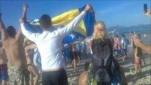 Mondial 2014 : les Argentins s'approprient Copacabana
