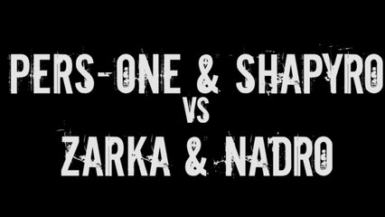 Draft Sud-Est - Zarka & Nadro vs Pers One & Shapyro