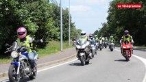 Rennes. Les motards roulent pour les Restos du cœur