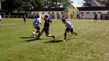 Match U15 parents contre jeunes 2 (tir de jean pierre)