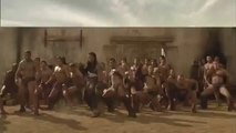 Spartacus - Haka Support for Andy Whitfield