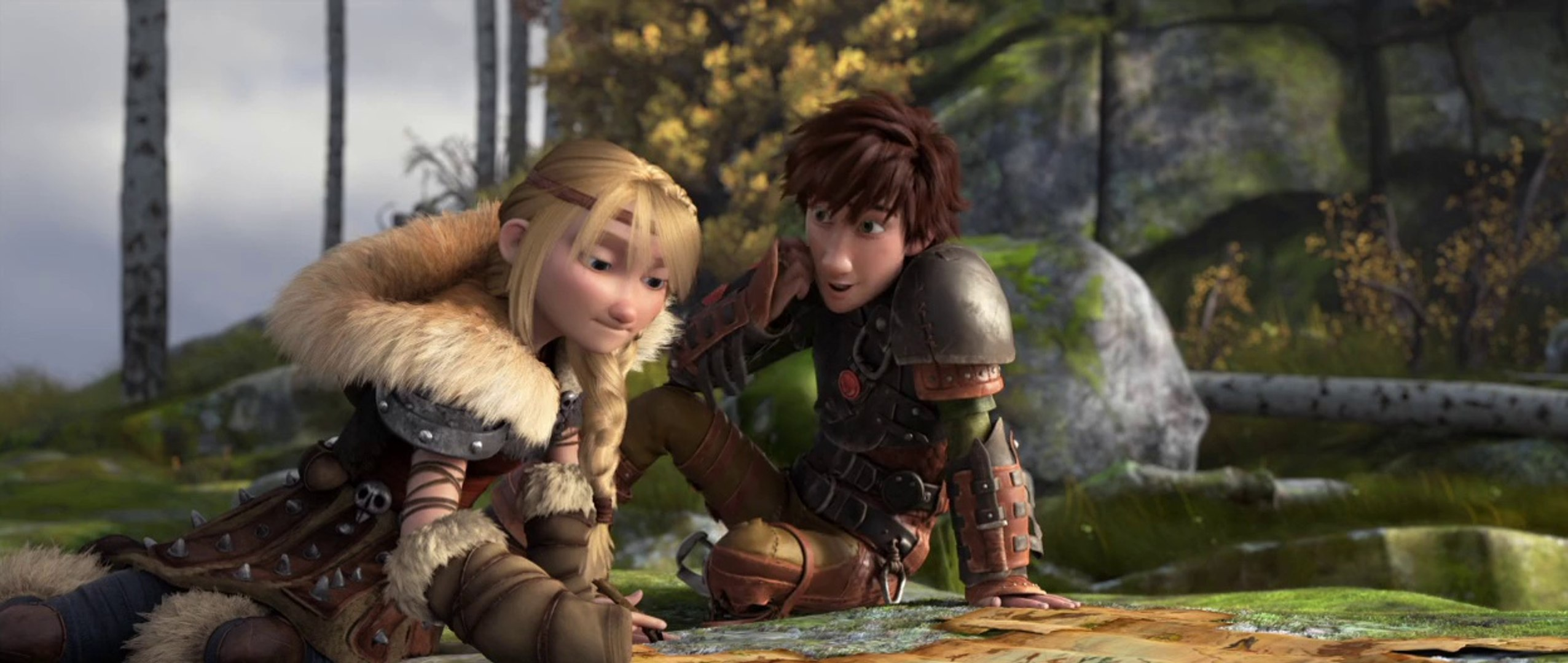 How To Train Your Dragon 2 Hiccup And Astrid Clip Hd Video Dailymotion
