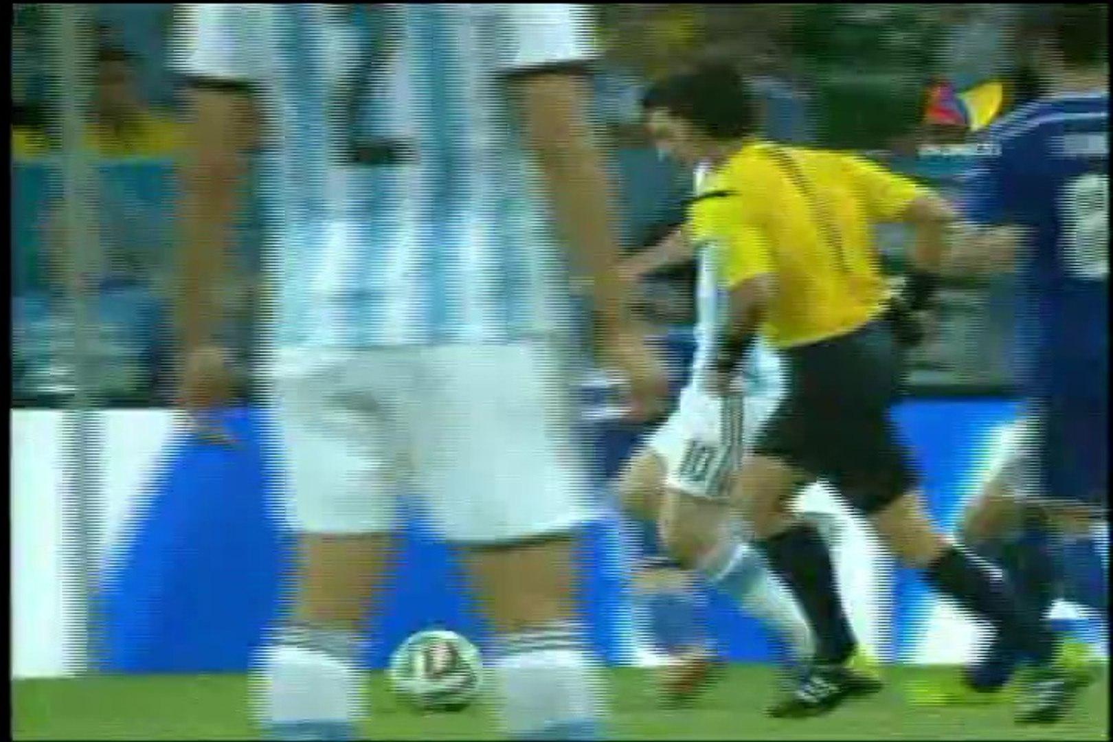 Gol de Messi a Bosnia