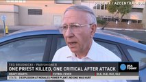 Priest killed, another injured in church shooting