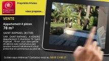 A vendre - appartement - SAINT RAPHAEL (83700) - 4 pièces - 78m²