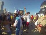 Coupe du Monde Bresil: Avant match de la France sur la plage de Copacabana