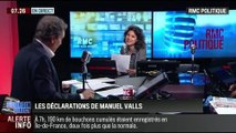 RMC Politique : Les limites de la déclaration de Manuel Valls devant le conseil national du parti socialiste – 16/06