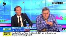 France/Honduras : Pierre Ménès fait la gueule