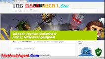 How to Get Unlimited coins/Jetpacks/gadgets in Jetpack Joyride Android/iOS june 2014 Free