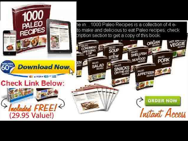 bodybuilding and paleo diet meal plans