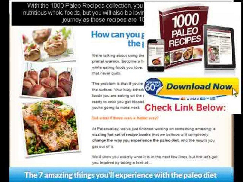 caveman diet menu plan
