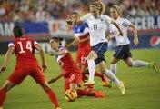 Etats-Unis - France Féminines, 1-0, : le match vu depuis le bord du terrain