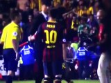 Cristiano Ronaldo Consoles Lionel Messi after Copa del Rey Final 2014 HD