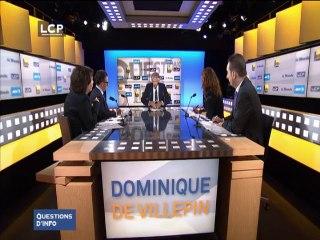 Villepin : Dans une France à « 65 millions de mécontents», il faut « retourner au peuple » par référendum.