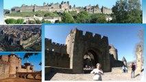 Cité de Carcassonne : circuit groupe Carcassonne et le Pays Cathare avec guide en LSF (JOUR 1)