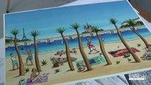 Loustal illustre Paris plages