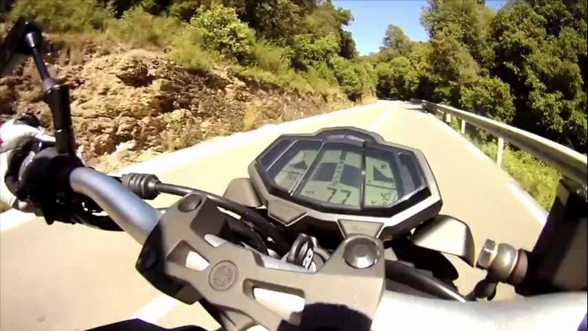 Essai Moto : Yamaha MT-125