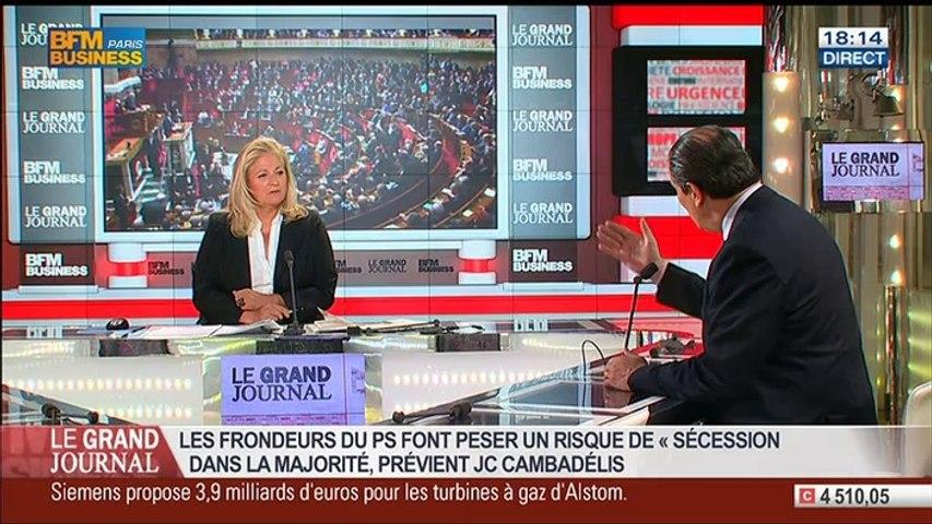 Jean-Christophe Cambadélis, premier secrétaire du PS, dans Le Grand Journal – 16/06 1/4